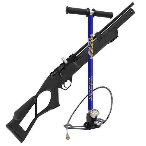 Carabina PCP Hatsan Flash 5.5 + Bomba PCP Rossi