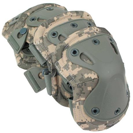 Kit de Proteção Airsoft - Joelheira e Cotoveleira Camuflagem...