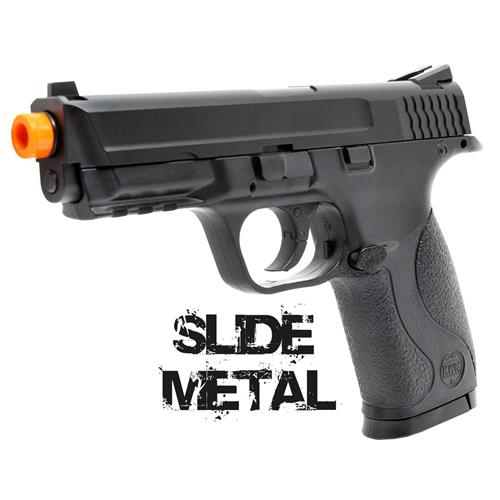Pistola Airsoft MP40 S&W CO2 Slide Metal