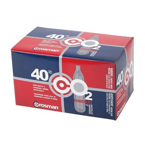 Cilindros CO2 12g Crosman 40 Unidades