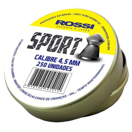 Chumbinho Rossi Sport Cal 4.5mm (250UN)