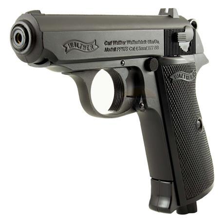 Pistola de Pressao CO2 Walther PPK/S (Blow Back) - 4.5mm