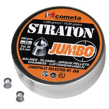 Chumbinho JSB Jumbo Straton - Cal 5.5mm (250UN)