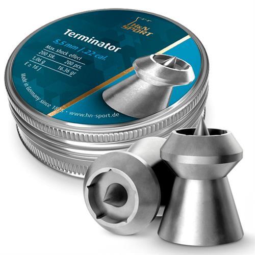 Chumbinho H&N Terminator - Cal 5.5 mm (200UN)