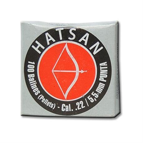 Chumbinho Hatsan Punta - Cal 5.5mm (100Un)