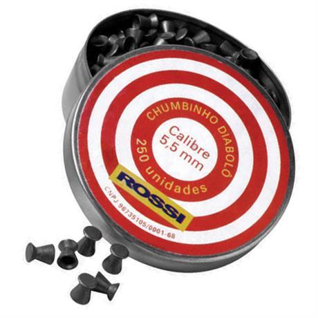 Chumbinho Diabolo Rossi - Cal 5.5mm (250UN)