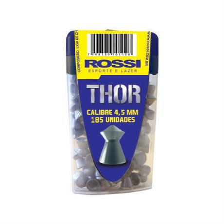 Chumbinho Rossi Thor 4.5mm (185UN)