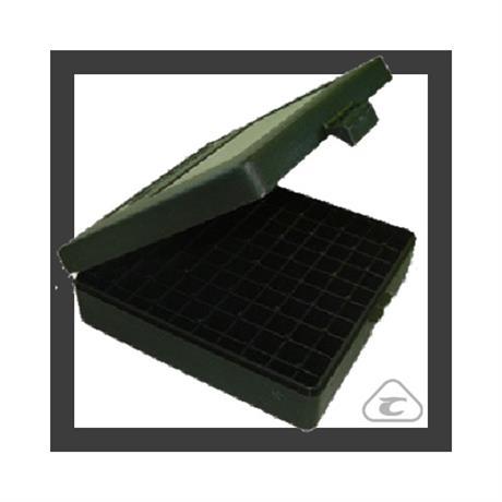 Caixa para Armazenamento de Municao (100 un) - Cal .38 e .357