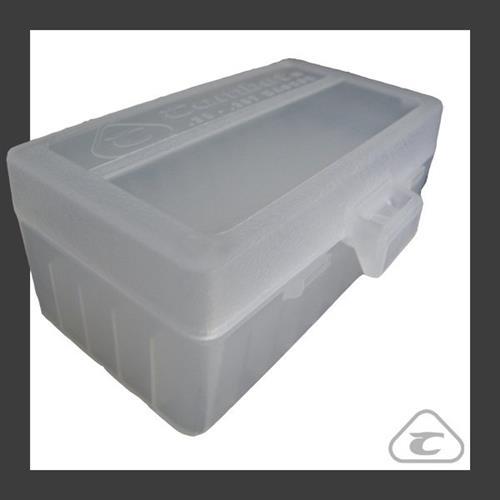 Caixa para Armazenamento de Municao (50 un) Branca - Calibre .38 e .357