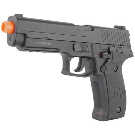 Pistola Airsoft Eletrica SIG SAUER P226 (Full Metal 900Gramas) CYMA + Speedloader