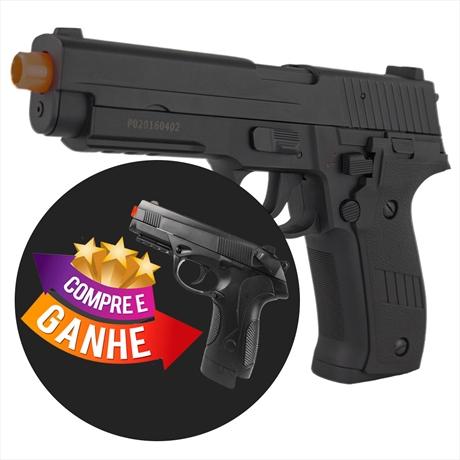 Pistola Airsoft Eletrica SIG SAUER P226 (Full Metal 900Grama...