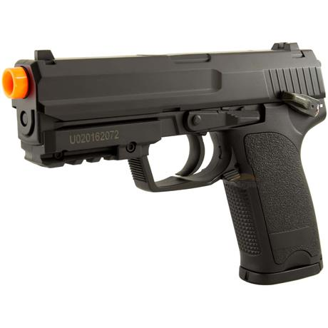 Pistola Airsoft H&K USP Eletrica Full Metal 850Gramas - Cyma