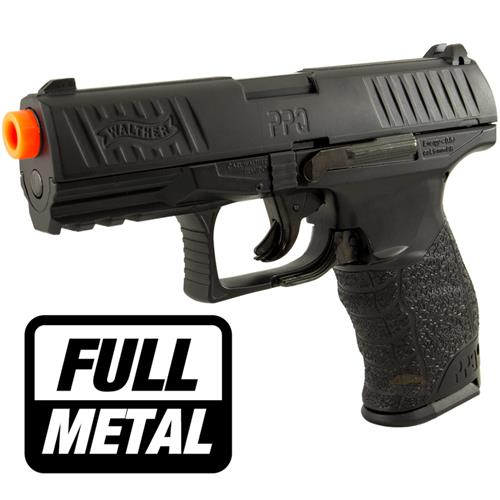 Pistola Airsoft Walther PPQ BLACK (FULL METAL) - Cal 6mm (UMAREX)