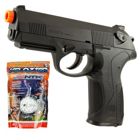 Pistola Airsoft Beretta PX4 Storm (Double Action) + 2.000BBS Velozter 0.12g