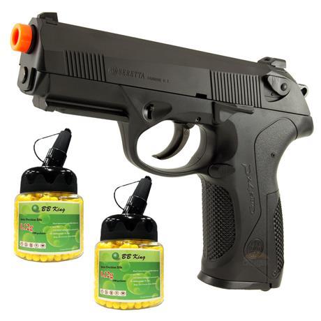 Pistola de Airsoft Beretta PX4 Storm + 2000 bbs BB KING