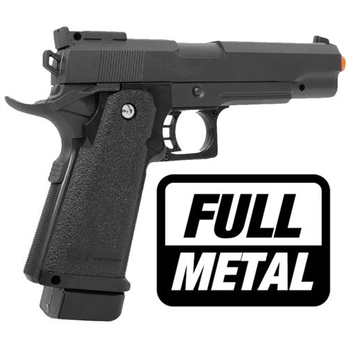 Pistola Airsoft COLT 1911 G6 FULL METAL 6mm (GALAXY)
