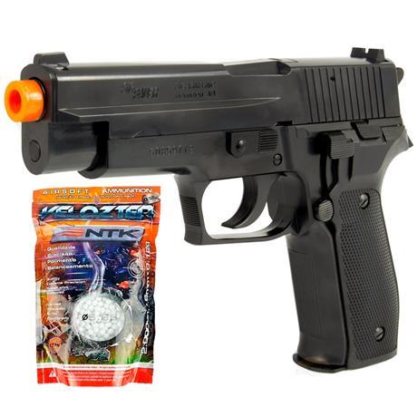 Pistola Airsoft Cybergun SIG SAUER P226 6mm + 2.000 BBS Velozter