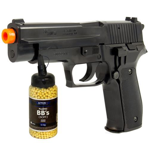 Pistola Airsoft Cybergun SIG SAUER P226 + 2.000 BBS