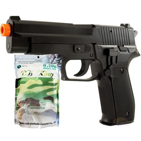 Pistola Airsoft SIG SAUER P226 (KWC) + 4.000 BBS 0,20G