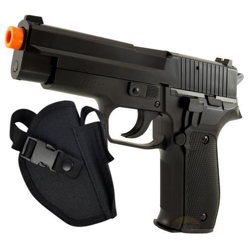 Pistola de Airsoft  SIG SAUER P226 - Cal 6mm (KWC) + Coldre Tático Crosman