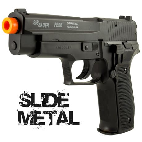 Pistola Airsoft Sig Sauer P226 (SLIDE METAL) - Cal 6mm