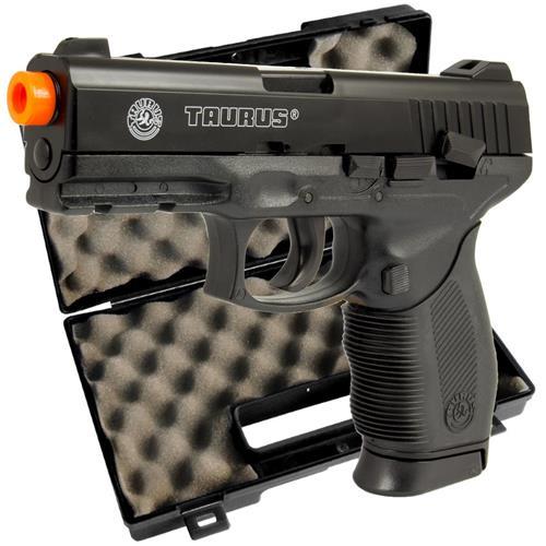 Airsoft Taurus 24/7 (02 Magazines) Semi Metal 578 Gramas + Maleta Pistol Case Rossi