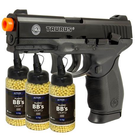 Pistola Airsoft Taurus 24/7 Cybergun + Magazine Extra e 6.000 BBS