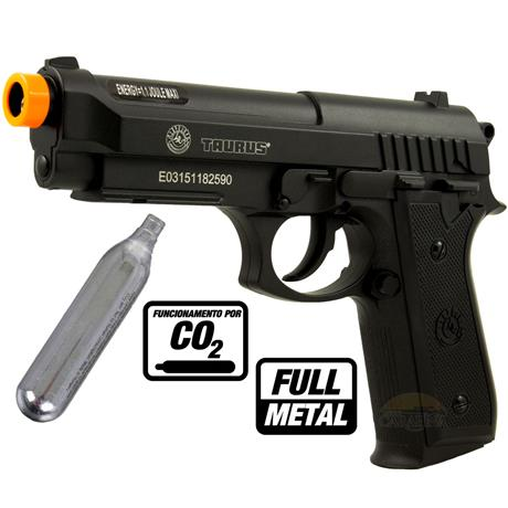Pistola Airsoft CO2 Taurus PT92 FULL METAL 6mm