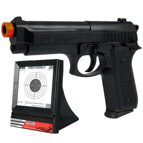 Pistola de Airsoft Taurus PT92 Cybergun + Alvo Coletor