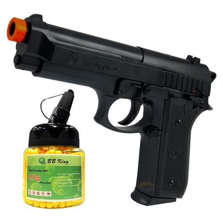 Pistola Airsoft Taurus PT92 Cybergun + 1000BBS
