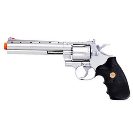 """Revólver Airsoft 357 Magnum 6"""" Prata"""