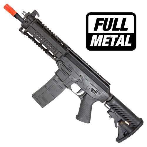 Rifle Airsoft Sig Sauer 556 Shorty (Full Metal) (Blow Back) - Cal 6mm - CyberGun