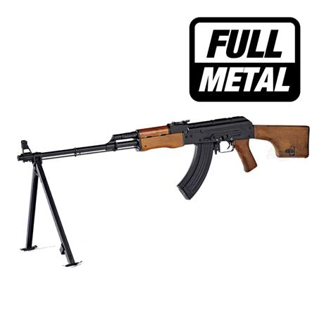 Rifle Airsoft Rpk-74 Eletrico (Full Metal) (Blow Back) - Cal 6mm - King Arms