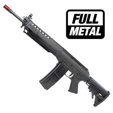 Rifle Airsoft Eletrico Sig Sauer 556 (Full Metal) Calibre 6mm - CyberGun