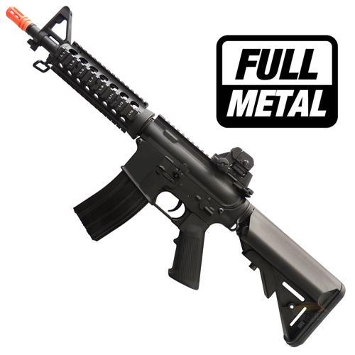 Rifle Airsoft M4A1 CQB RIS Elétrico Full Metal 6mm - Cyma