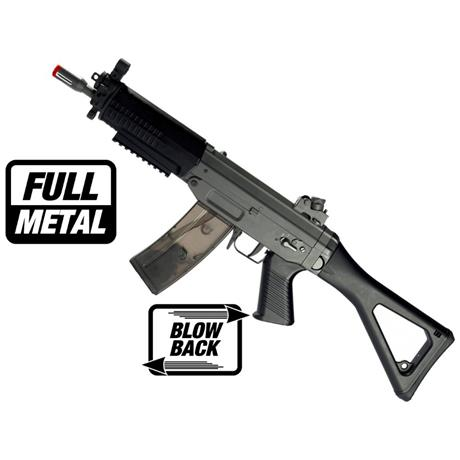 Rifle Airsoft Sig Sauer 552 Ris (Full Metal) (Blow Back) - Cal 6mm (CyberGun)