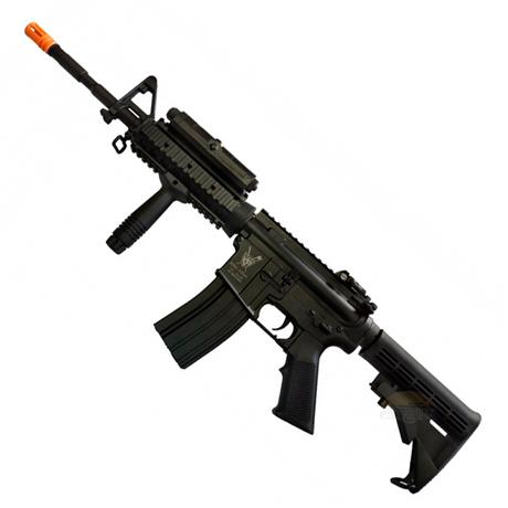 Rifle Airsoft M4 RIS Advance Elétrico 6mm (King Arms)