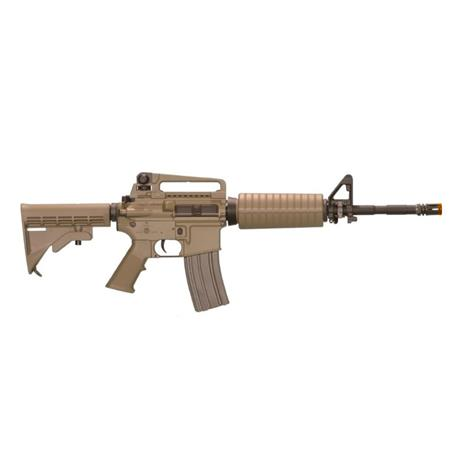 Rifle Airsoft M4A1 Dark Earth (Premium) (Eletrico) (Full Metal) (Cano de Precisao) - Cal 6mm (Ares)