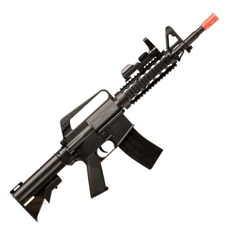 Rifle Airsoft M4A1 RIS Spring Crosman + Magazine Extra e Acessórios