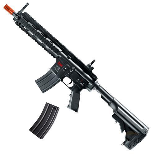 Rifle Airsoft Eletrico HK 416 CQB RIS - Umarex + Magazine Hicap Extra