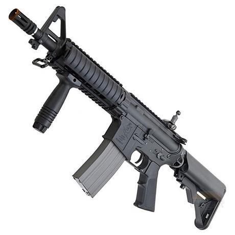 Rifle Airsoft M4A1 CQB RAS Premium (Eletrico) (Full Metal) (Cano de Precisao) - Cal 6mm (Ares)