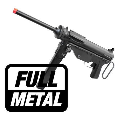Rifle Airsoft Elétrico M3 Submetralhadora Full Metal ICS