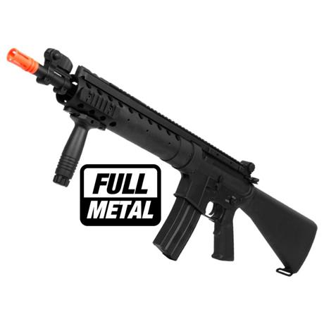 Rifle Airsoft M16 SPR Long Version (Eletrico) (Full Metal) 6mm (A&K)