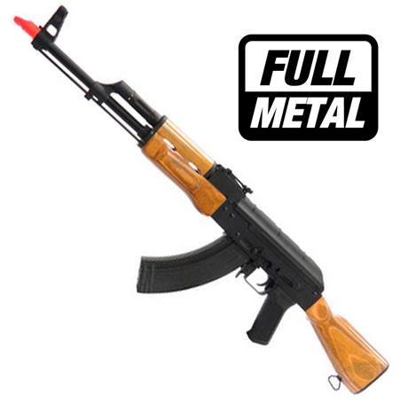 Rifle Airsoft AK47 Eletrico (Full Metal) - Cal 6mm (Cyma)