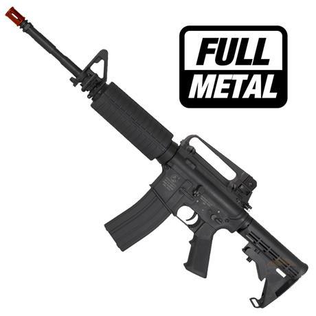 Rifle Airsoft Colt M4A1 Elite (Eletrico) (Full Metal) + 02 Magazine Hicap - Cal 6mm - CyberGun