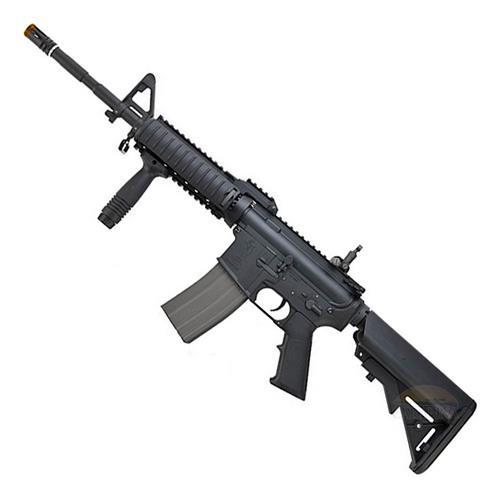 Rifle Airsoft M4A1 Ras2 - Premium (Eletrico) (Full Metal) (Cano de Precisao) - Cal 6mm (Ares)