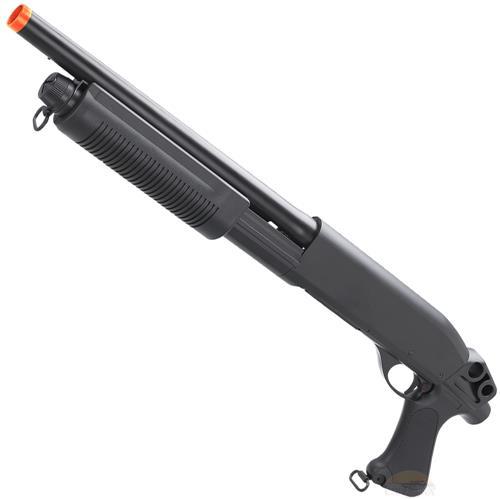 Shotgun Airsoft Escopeta M870 30RDS - CAL 6MM - CYMA