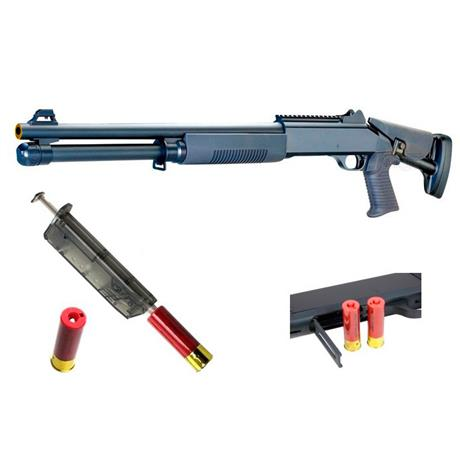 Shotgun Airsoft Escopeta Tactical Cal 6mm - Firepower (CyberGun)
