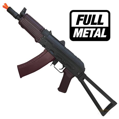 Rifle Airsoft AKS74U Full Metal (Eletrico) 6mm - Cyma