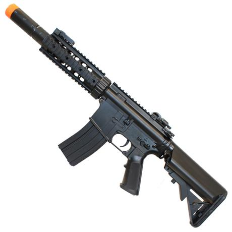 Rifle Airsoft M4A1 CM513 Black RIS Eletrico 6mm - Cyma